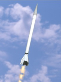 Paper model of viking 7 rocket